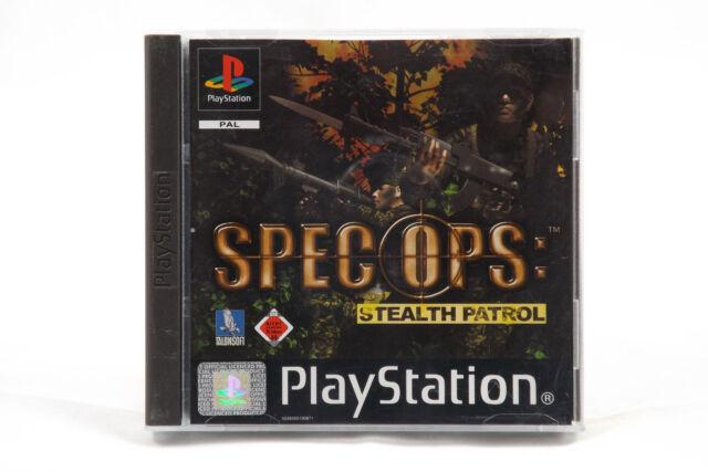 Spec Ops: Stealth Patrol (Sony PlayStation 1/2) PS1 Spiel in OVP, PAL, neuwertig
