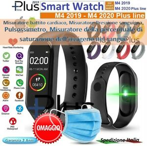 SMART-WATCH-M4-Plus-2020-Bluetooth-Orologio-per-Android-ios-Battito-Fitness