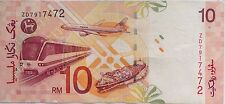 RM10 Zeti sign Replacement Note ZD 7917472
