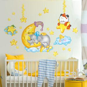 Dettagli su RCC0049 WallStickers Adesivi Murali Bambini \