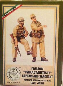 "Figurini in resina 1/35 ""ITALIAN PARACADUTISTI"" MODEL VICTORIA (4028)"