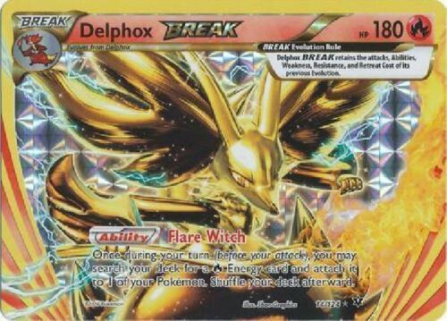2x Delphox Break Break Rare NM Pokemon XY Fates Collide 14//124