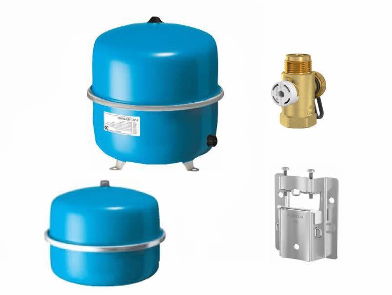 Buderus Buderus Buderus Membrand Ausdehnungsgefäß / Ausgleichsbehälter für Heizung 18 - 80 Liter 7f9314
