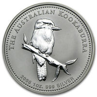 2005 1 oz Silver Australian Kookaburra Coin
