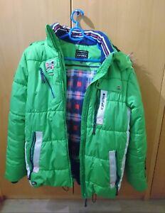 uk availability 52053 b8882 Details zu grüne Icepeak Daunenjacke / Skijacke Herren