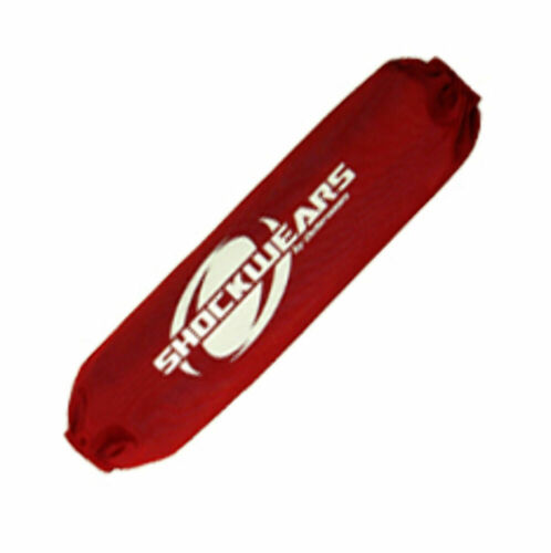 30-1224-03 Honda TRX250R Rear Shock Cover Single Red by Outerwears