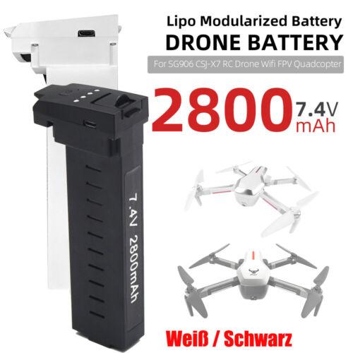 SG906 CSJ-X7 Batterie 7,4V 2800mAh Lipo für RC Drohne Wifi FPV Quadcopter Y4R1