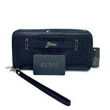 BNWT RRP$95 GUESS DEVYN Zip-around Wallet Clutch Purse Wristlet Caramel