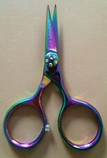 "4"" Pro Hair CUTTING Scissors Shears Fly Tying Fine Point MAGNUM Razor Sharp!"