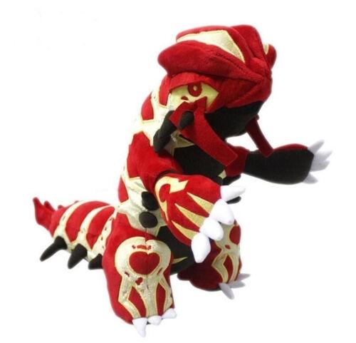 "New Pokemon Groudon Plush Soft Toy 12/""//30cm Stuffed Animal Doll Gift"