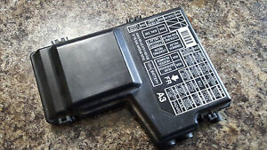 1994 1997 honda accord cover engine fuse box oem 94ha1 ebay. Black Bedroom Furniture Sets. Home Design Ideas