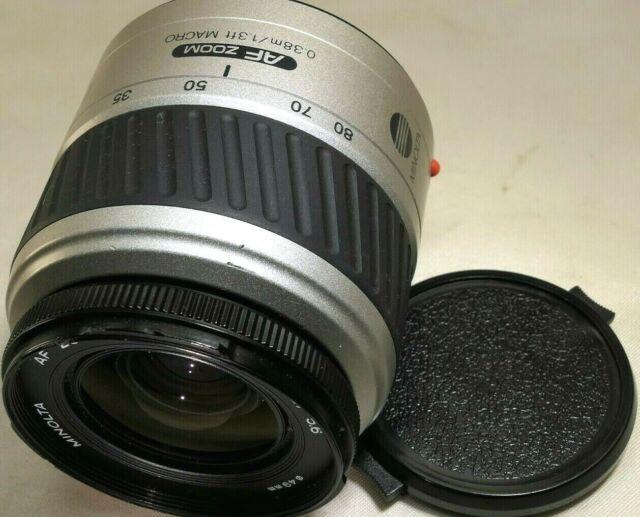 Minolta Maxxum 35-80mm f4-5.6 DL Af Lente para Sony un Montaje SLR Cámaras