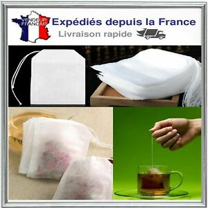 Lot-10X-20X-50X-100X-Sachet-de-The-vide-Sac-Filtre-Infusion-Passoire-Tea-Bag