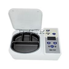 Dental Digital Wax Heater 4 Well Pot Dental Lab Equipment For Melting 110v Dc