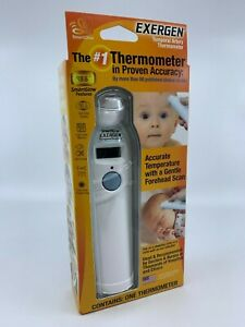 Exergen Temporal Artery Thermometer SmartGlow New Sealed  FREE SHIPPING
