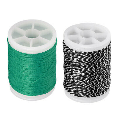 New Fiber Bow String Serving Thread 110m 0.4mm for Bowstring 3 Colors
