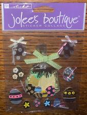 JOLEES BOUTIQUE CHOCOLATE BUNNIES EASTER SCRAP BOOKING STICKERS
