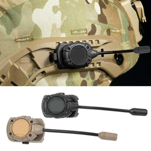 5Pcs Outdoor MPLS Night Helmet LED Light Lamp Lighting 2 Colors Mount NE05012