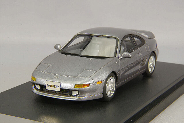 1 43 Hi-Story Toyota MR2 G Limited 1993 SW20 Type III gris MICA HS185GY