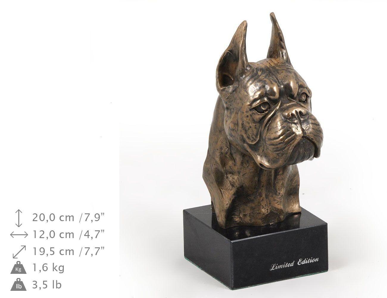 Boxer tedesco - statua di cane, edizione limitata Kunst Hund IT