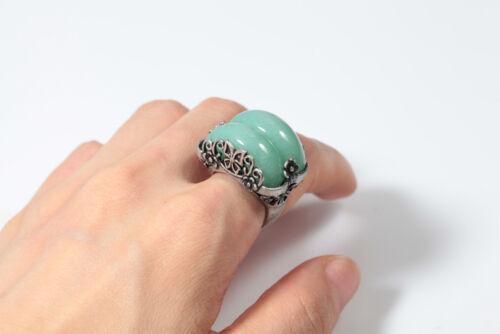 Jade Ring Size Adjustable Korean Traditional Hanbok Handmade Accessory 한복반지 3030