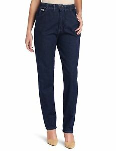 7cf5d440 Lee Women's Relaxed-Fit Side Elastic Tapered-Leg Jean | eBay