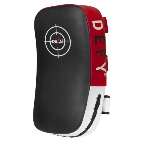 DEFY Kick Boxing Strike Curved Thai Pad MMA Training Focus Mitt Target 1 PC Red