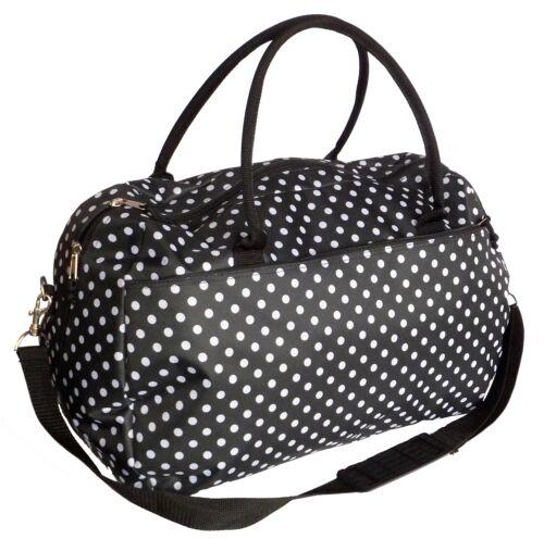 Ladies week-end durante la notte borsa da donna grande maternità da viaggio Borsone Sport da Palestra