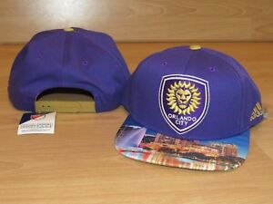100% authentic d3bbe 724e5 Image is loading Orlando-City-SC-Lions-Skyline-MLS-Soccer-Futbol-