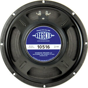 """Eminence Legend 10516 75 watt 10""""  guitar speaker  16 ohms"""
