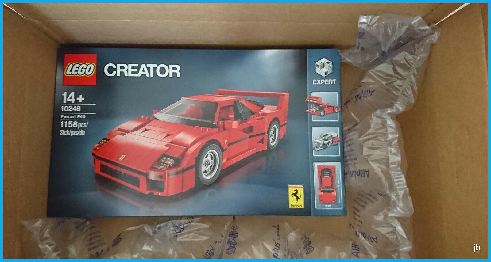 LEGO Ferarri F40 10248 creatore ritirato modello esaurita