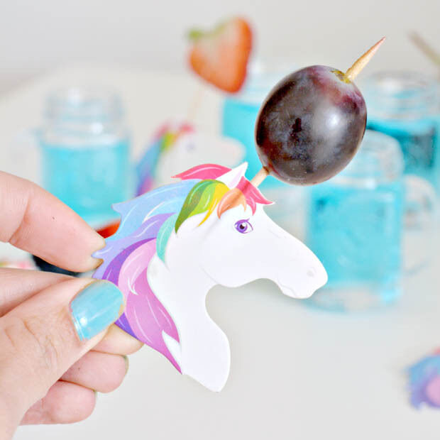 PALILLOS UNICORNIO PARA APERITIVO (Pack 24). Snacks, picar, queso, frutos secos