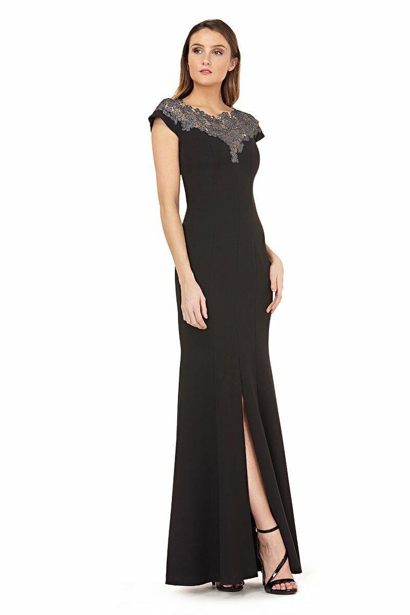 Nouveau JS collections en dentelle à encolure Robe de sirène robe de taille 8 325   métallisé Nordstrom