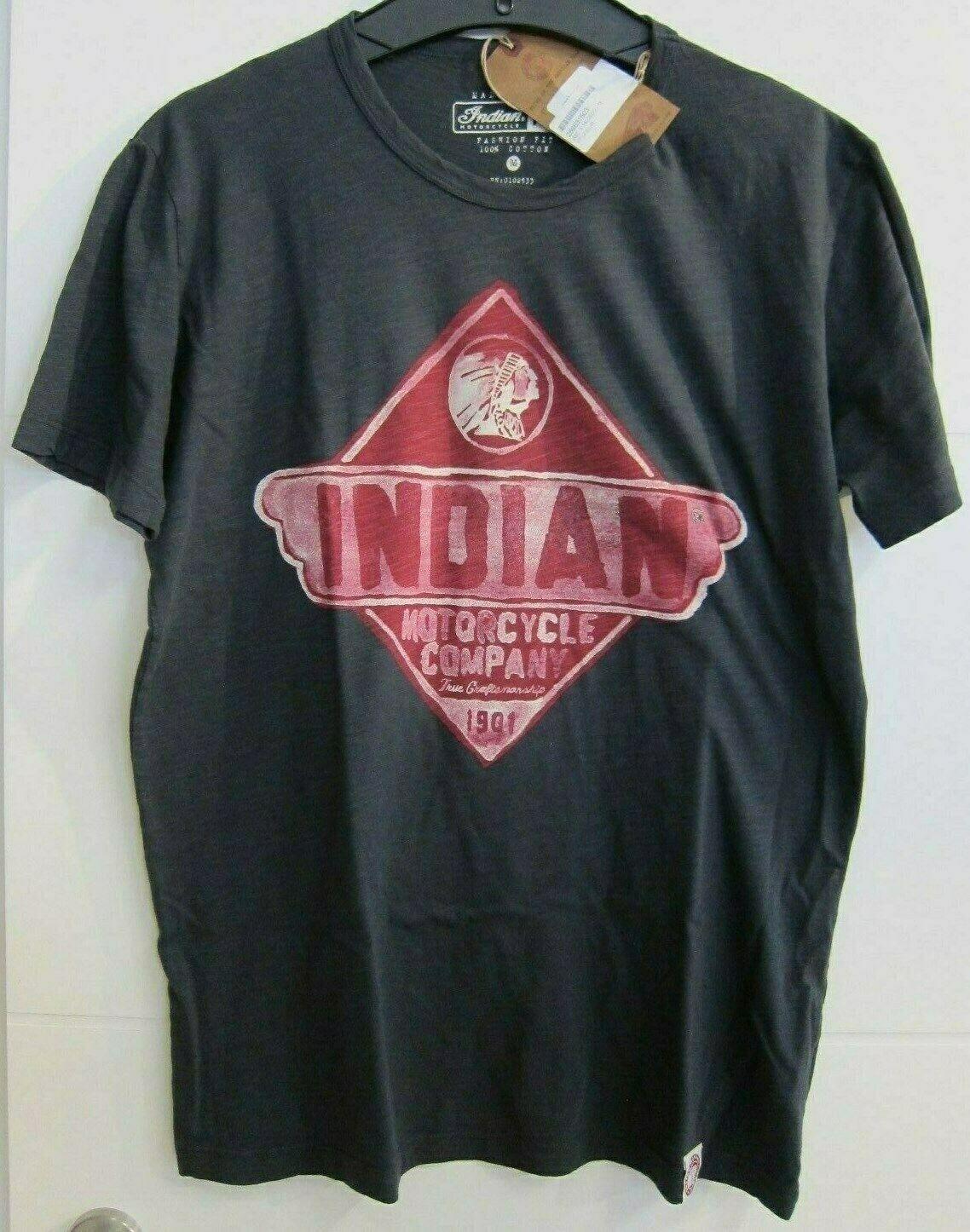 INDIAN Motorcycle Herren hemd grau 100% Baumwolle NEU  286631503 Gr. L