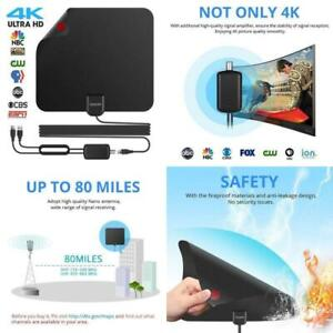 2018-Newest-Best-80-Miles-Long-Range-TV-Antenna-Freeview-Local-Channels-Indoor-B