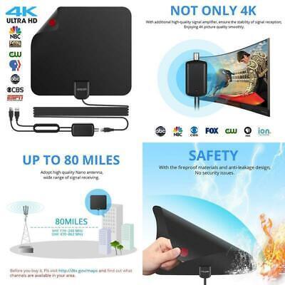 DIGITAL ANTENNA TV HDTV 960 MILES LONG RANGE HQ HDTV INDOOR ANTENA Freeview Best
