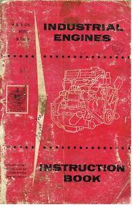 FORD-589E-590E-591E-592E-MOTORE-INDUSTRIALE-1958-manuale-di-istruzioni-amp-Manutenzione