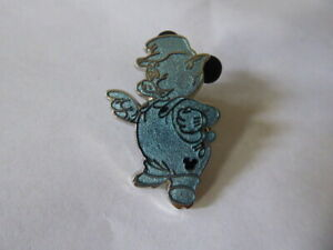 Disney-Trading-Pins-DLR-Hidden-Mickey-2019-Pin-Three-Little-Pigs-Practical-Chase