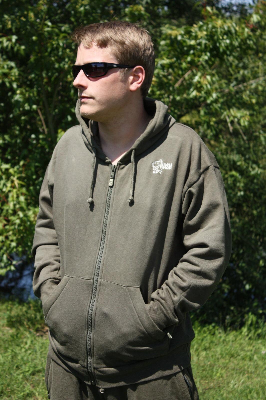 Nash Tracksuit Jacket Jacke Angeljacke Freizeitjacke Anglerjacke