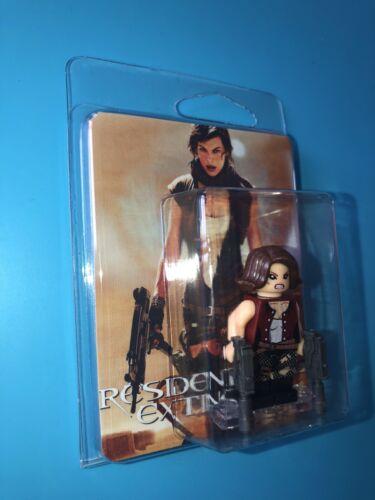 Resident Evil Custom Packaged Mini-Figure Movie Video Game Alice RE2 Zombie