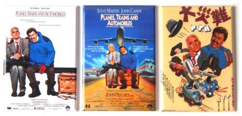 Planes Trains and Automobiles FRIDGE MAGNET Set movie poster