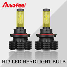 2X 9008 4-Sides LED Hi//Lo Beam Headlight 6000K 280000ML For Nissna Sentra 04-12