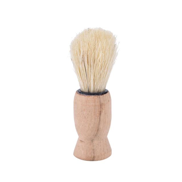 1x wood handle badger hair beard shaving brush for men mustache barber tnw