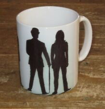 The Avengers Steed Diana Rigg Shadow MUG