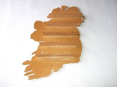 36pc U.K Pine /& Ireland  Wooden Thimble Display Racks huge range