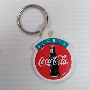 Coca-Cola-034-Always-034-Bottle-Logo-Keychain-FREE-SHIPPING