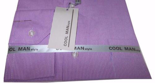 Camicia classica uomo Cool Man manica lunga collo classico art 201