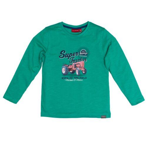 83111172 Salt /& pepper shirt maglioncino TRACTOR verde nuovo mis 92-134 TRATTORE