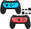 FASTSNAIL-Accessories-Grips-For-Nintendo-Switch-Joy-Con-Wear-resistant-Handle-2 thumbnail 1