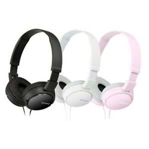 NEW-Sony-MDR-ZX110-Stereo-Monitor-Over-Head-Headphones